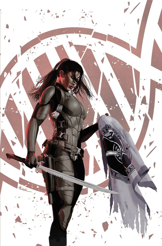 The cover of the third Lazarus hardcover collection. Art by Michael Lark