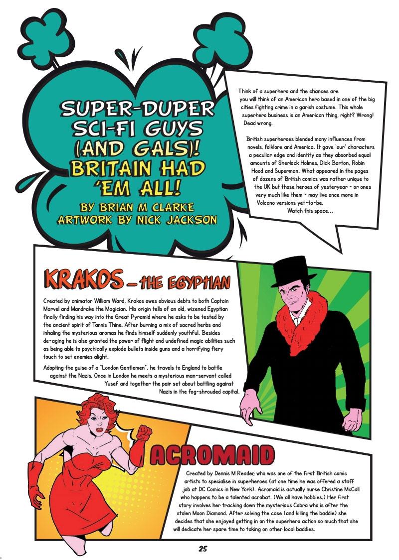 Mancunian- #1 1940s Superhero Feature