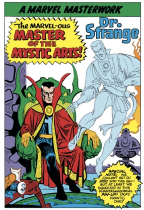 Marvel Masterwork Pin-Ups - Doctor Strange
