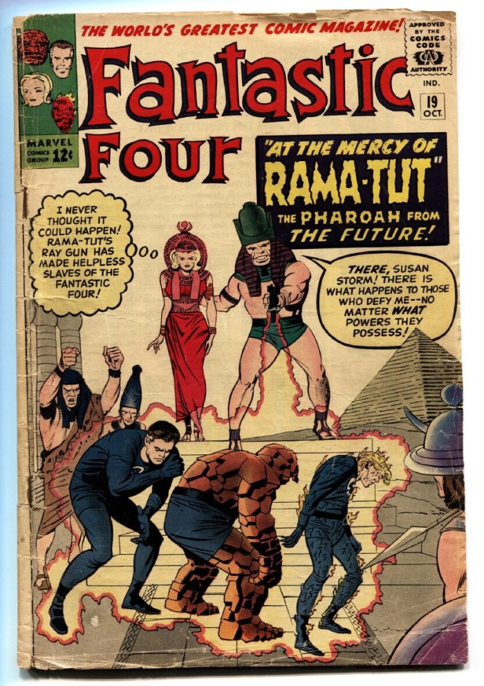 Fantastic Four #19 - Cover