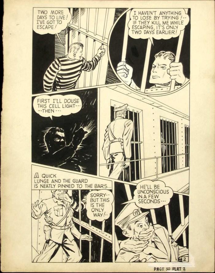 Pocket Comics #1 - The Zebra original art
