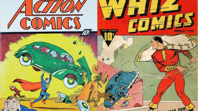 Warner asserts copyright over early Captain Marvel appearances