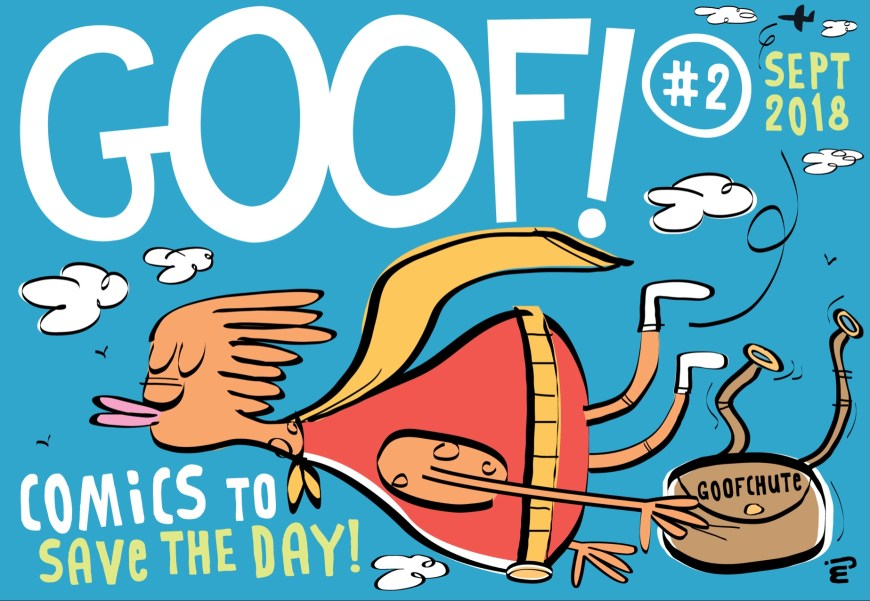 GOOF! Comic #2 Cover by Marc Jackson