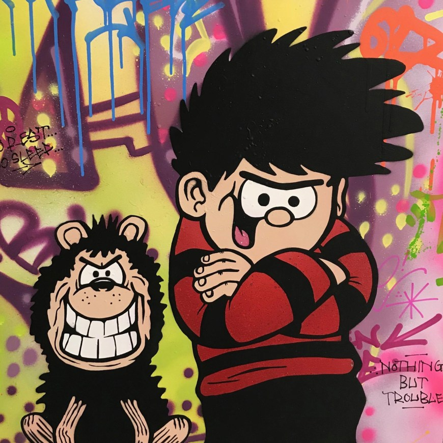 The Beano's Dennis and Gnasher by Sleek