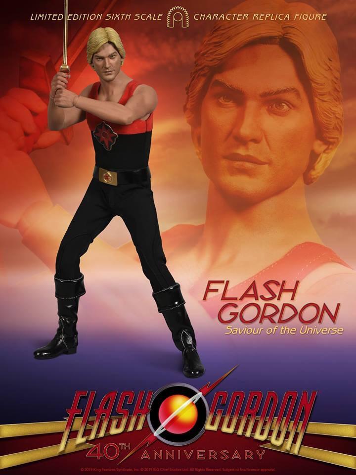 BIG Chief Studios Flash Gordon Figure - Flash Gordon