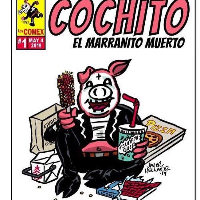 Cochito, El Marranito Muerto by Javier Hernandez
