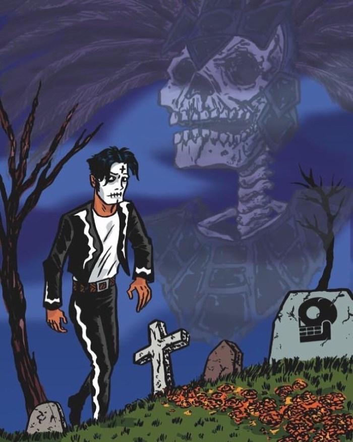 El Muerto: The Aztec Zombie by Javier Hernanez
