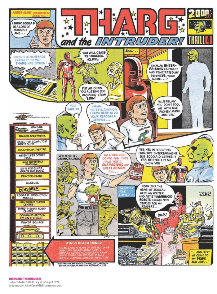 2000AD - Tharg and the Intruder