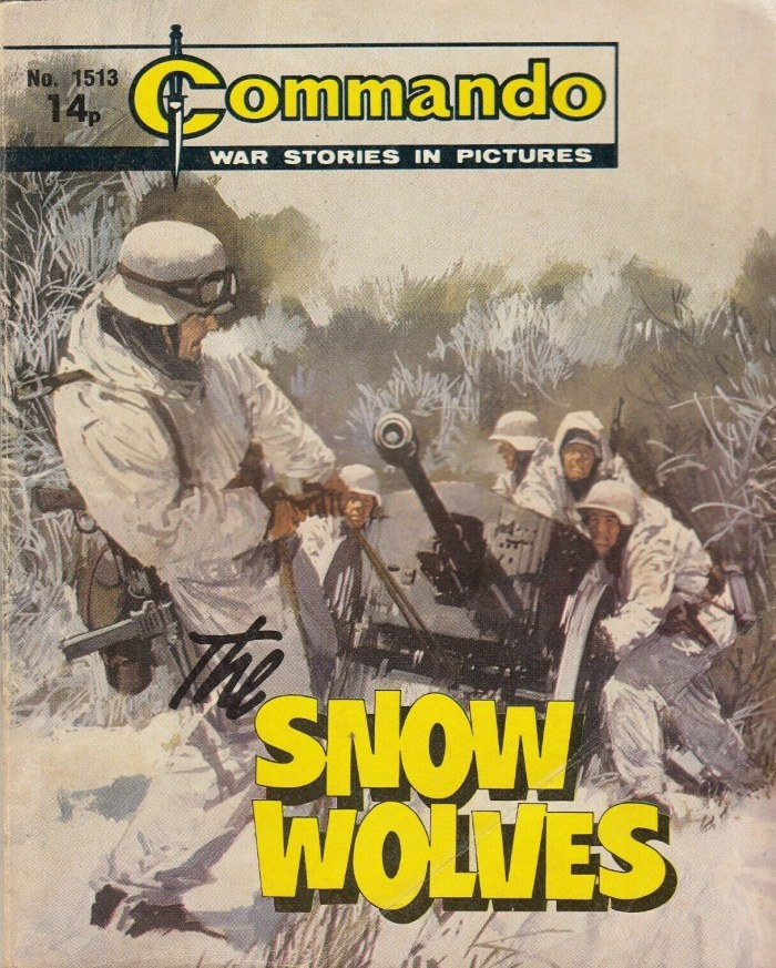 Commando 1513 The Snow Wolves
