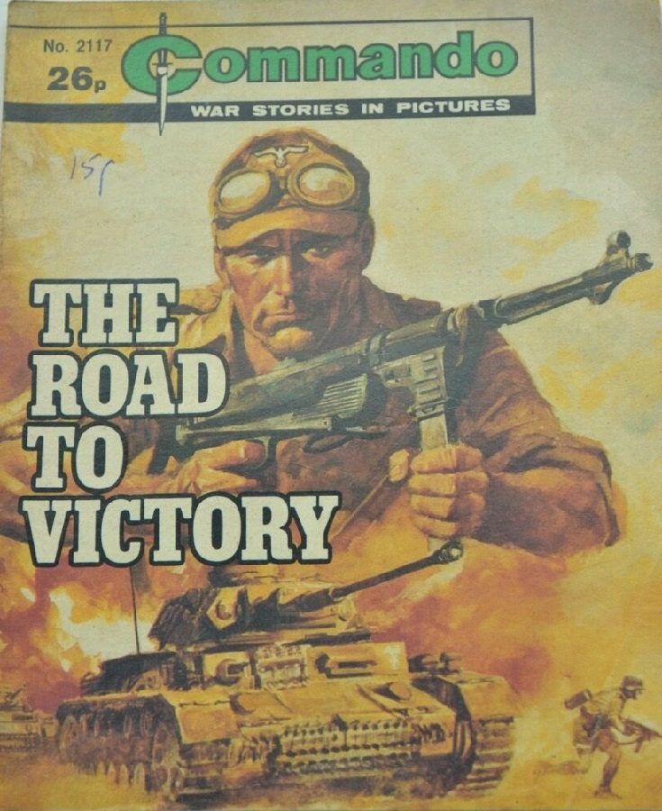Commando 2117 - The Road to Victory Cover by Jordi Longaron