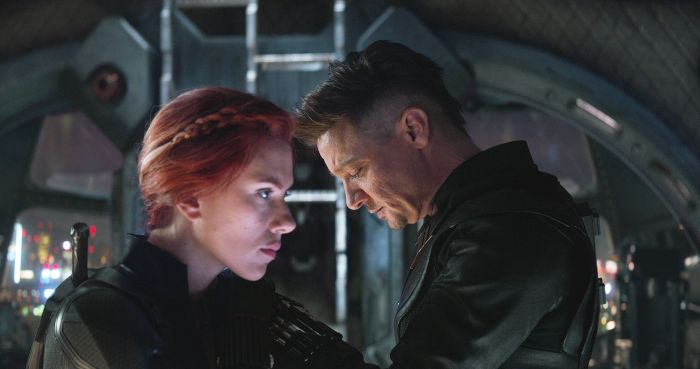 Black Widow and Hawkeye in Avengers: Endgame. Image: Marvel