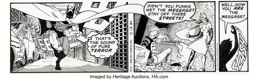Batman Daily Comic Strip - 13th December 1989 by Marshall Rogers