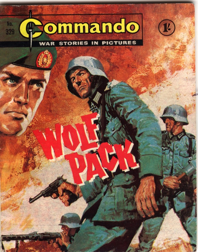Commando 329 - Cover by Jordi Longaron
