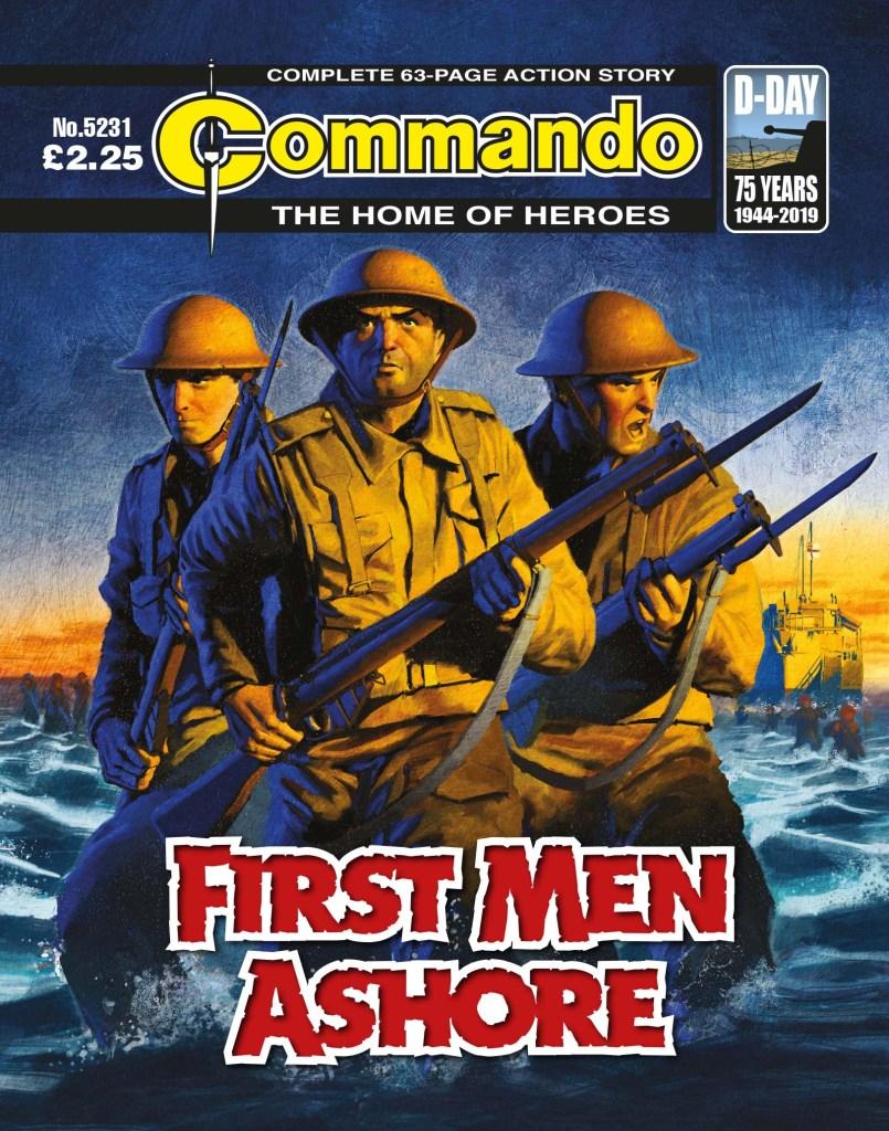 Commando 5231 - Home of Heroes: First Men Ashore