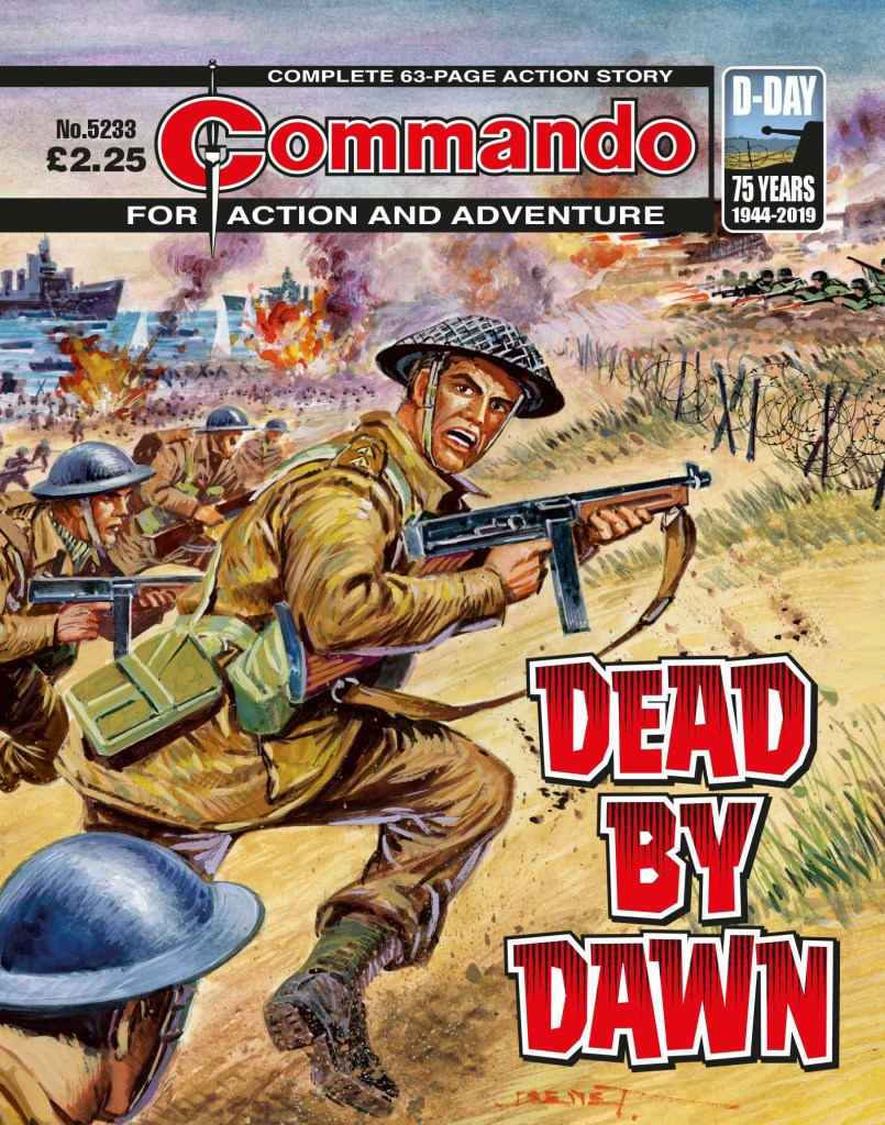 Commando 5233 - Action and Adventure: Dead by Dawn