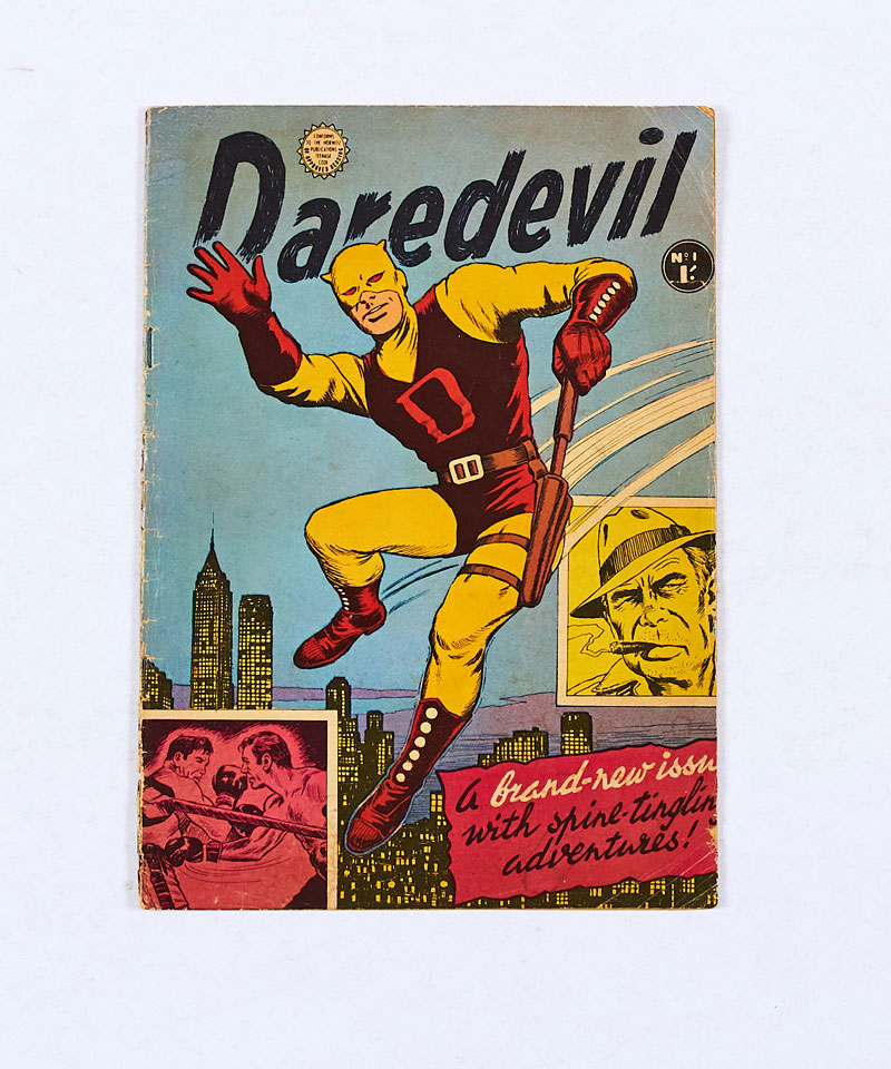 The first issue of the Australian edition of Marvel's Daredevil 1 (1964 Horwitz Publ. Sydney)