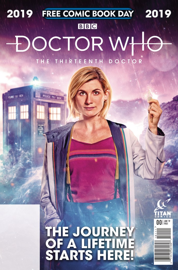 Doctor Who - Free Comic Book Day 2019