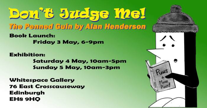 Don't Judge Me! - The Penned Guin Launch Event - Friday 3rd May 2019