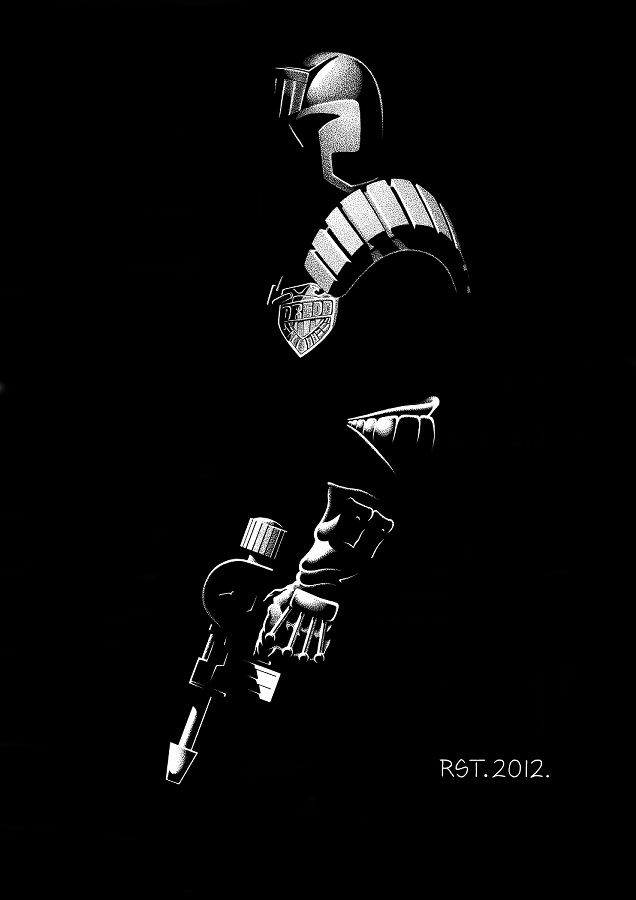 Judge Dredd by Robert Thomson