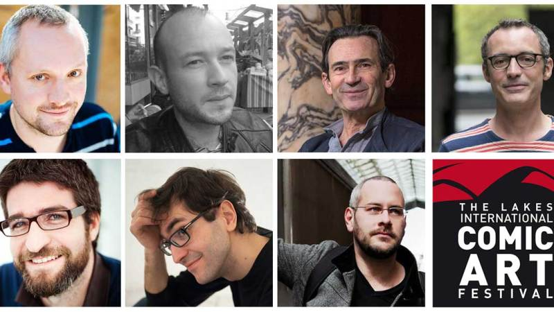 More European Comic Creators join October's Lakes International Comic Art Festival line-up