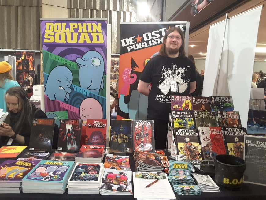 Oldham Comic Con 3 - Deadstar Publishing