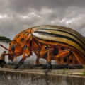 Odeith battles a giant Colorado Potato Beetle. Image: Odeith Official Site