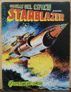 Starblazer Spain Issue One - El experimento Omega