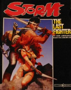Storm - The Last Fighter, published by Titan Books in 1987