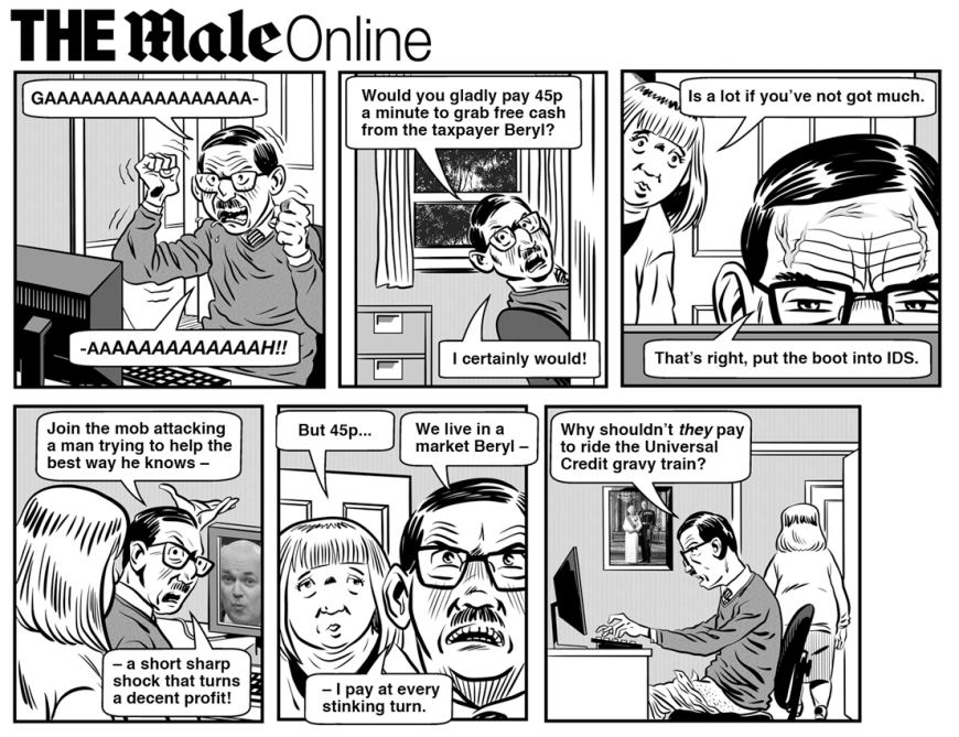 The Male Online by Barney Farmer