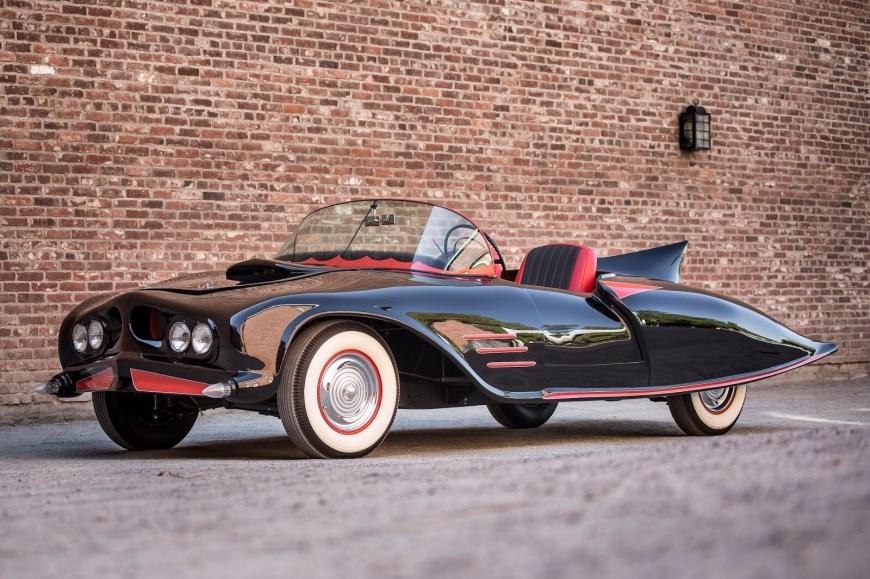 The 1963 Bat Car. Image: Heritage Auctions