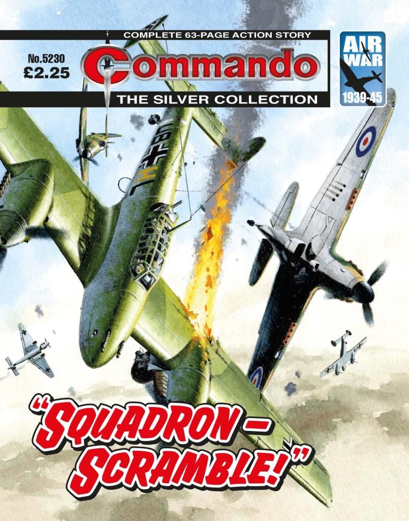 """Commando 5230 - Silver Collection: """"Squadron - Scramble!"""""""
