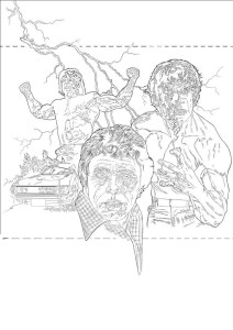 INFINITY Issue 20 Cover - The Incredible Hulk by Pete Wallbank - Pencils