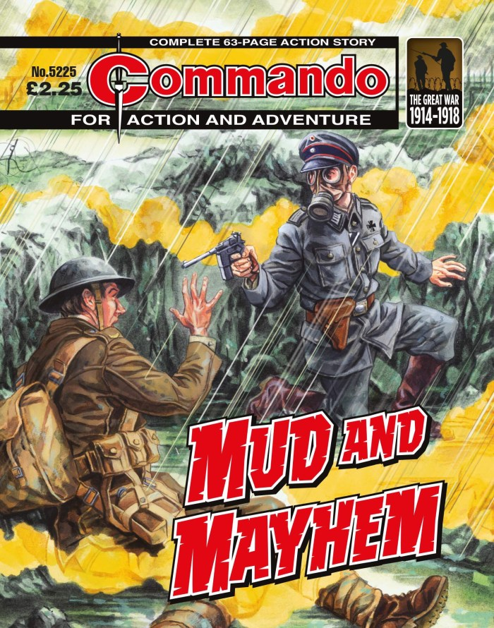 Commando 5225 - Action and Adventure: Mud and Mayhem