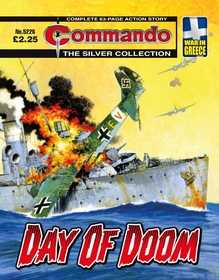 Commando 5226 - Silver Collection: Day of Doom