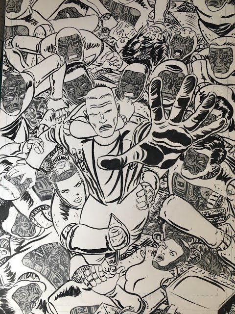 Alex Automatic art by Fraser Campbell