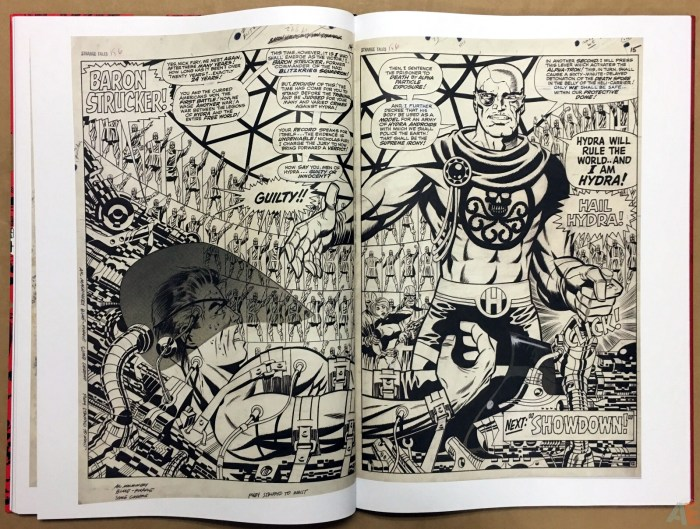 Steranko: Nick Fury Agent of SHIELD: Artist's Edition - Sample Pages