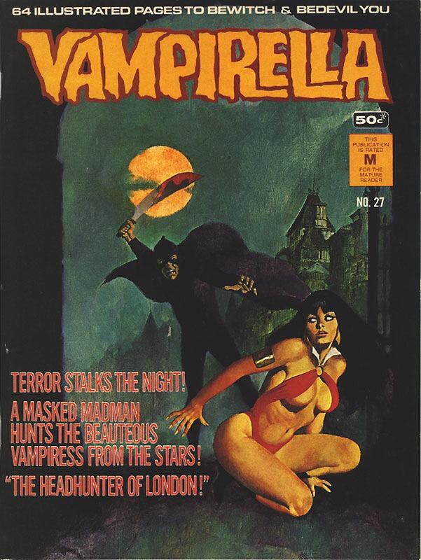 Vampirella cover art by Jordi Longaron