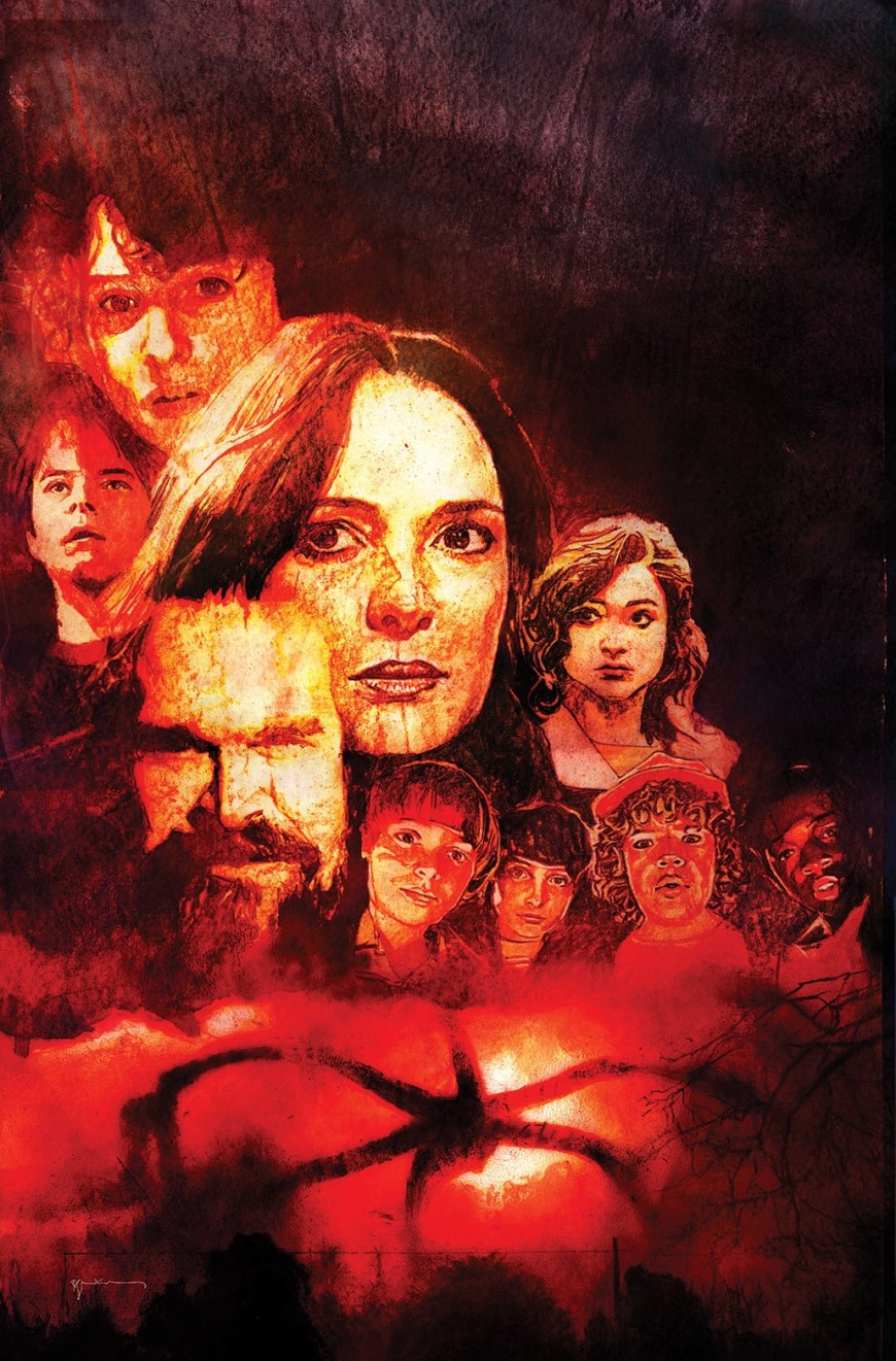 Visions from the Upside Down: A Stranger Things Art Book - art by Bill Sienkiewicz
