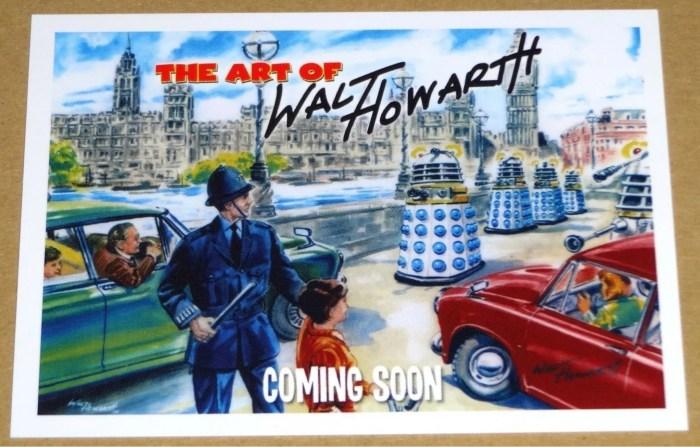 Doctor Who art by Walt Howarth