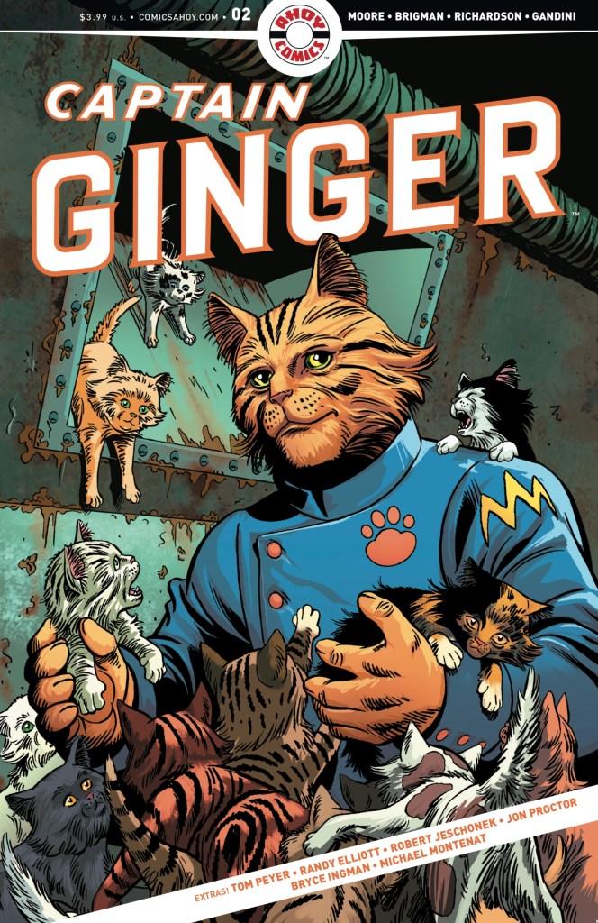 Captain Ginger #2 - Cover