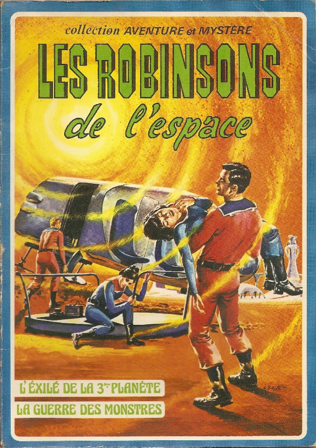 The first French collection of Space Family Robinson, published as Les robinsons de l'espace, in 1976