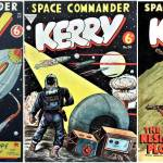 Space Commander Kerry Covers