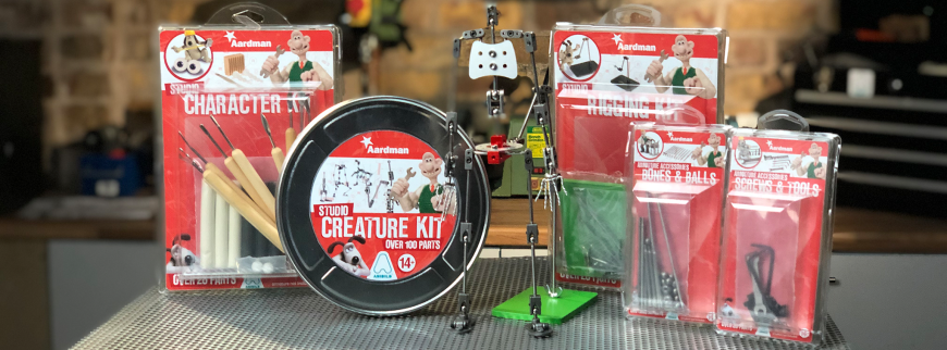 "Aardman Animation ""Armature Kit"" launched to aid stop motion"
