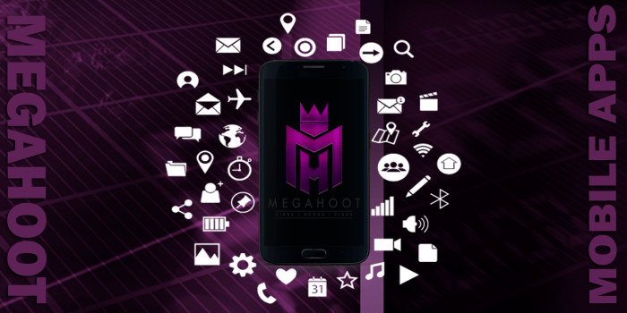 Megahoot Mobile Apps graphic