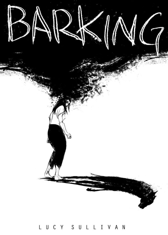 Art by Lucy Sullivan for Barking, a graphic novel about grief, madness, and the ghosts that haunt us that will get its launch at the Festival from Unbound.