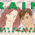 The cover of Rain by Mary and Bryan Talbot, which will get its launch at this year's Festival, published by Jonathan Cape. Set against the backdrop of disastrous floods in the North of England, Rain dramatically chronicles the developing relationship between two young women, one of whom is a committed environmental campaigner. Their wild Brontë moorland is being criminally mismanaged, crops are being systematically poisoned and birds and animals are being slaughtered