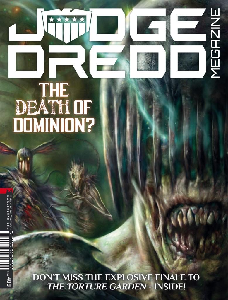 Judge Dredd Megazine 409 - Cover