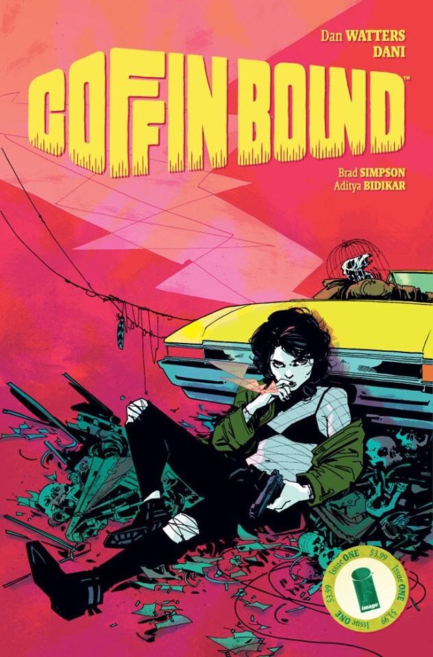 Coffin Bound #1 - Cover