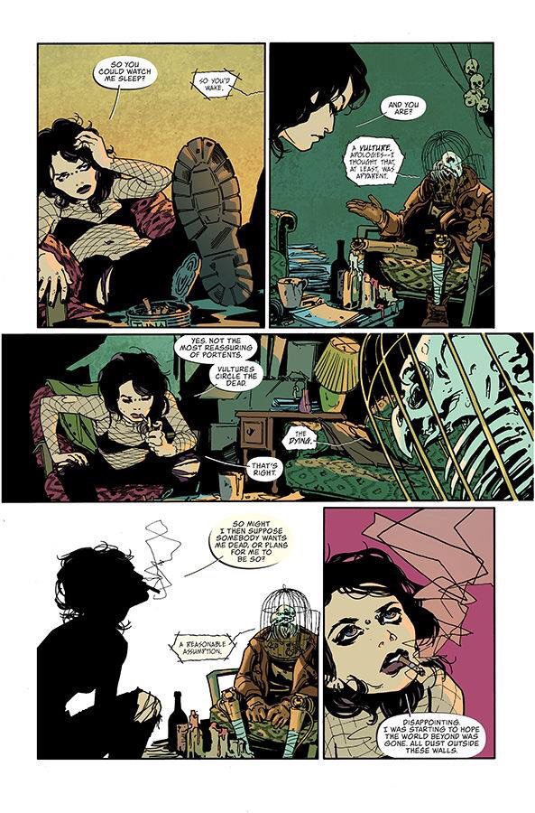 Coffin Bound #1 - Sample Page