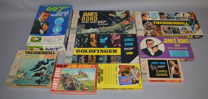 James Bond games and puzzles